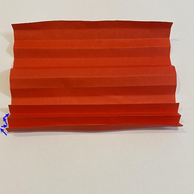 カーネーションの折り紙 幼稚園の子どもでも簡単!折り方作り方 (7)