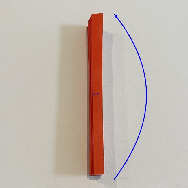 カーネーションの折り紙 幼稚園の子どもでも簡単!折り方作り方 (9)