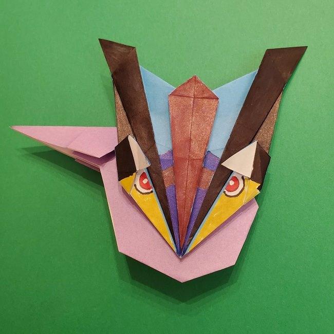 ゲッコウガの折り紙★簡単な折り方作り方★ポケモンのかわいいキャラクター
