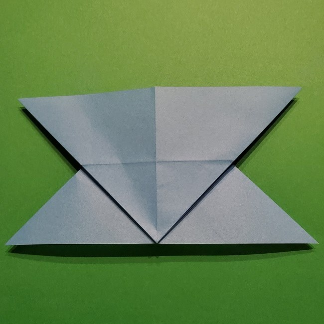 ゲッコウガの折り紙 折り方作り方1顔 (15)