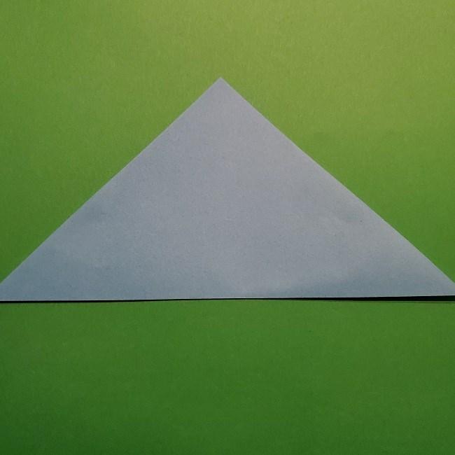 ゲッコウガの折り紙 折り方作り方1顔 (2)