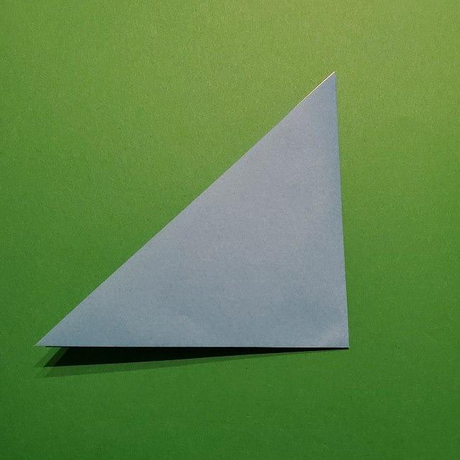 ゲッコウガの折り紙 折り方作り方1顔 (3)