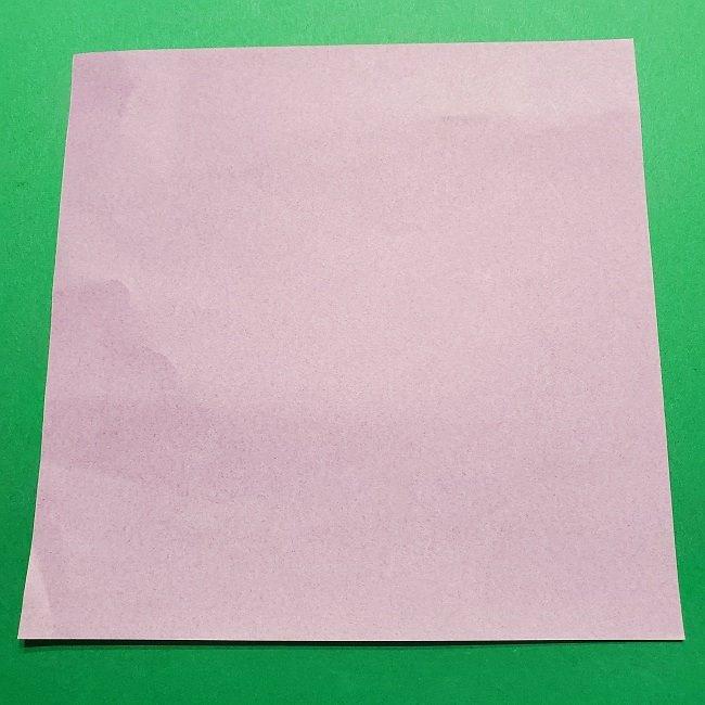 ゲッコウガの折り紙 折り方作り方2首 (1)