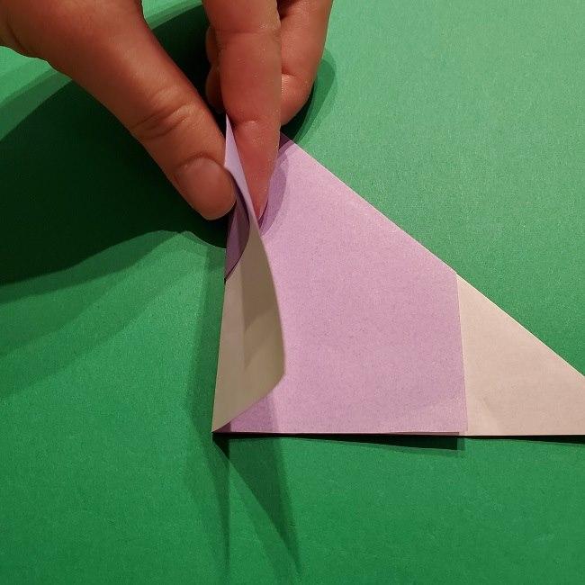 ゲッコウガの折り紙 折り方作り方2首 (10)