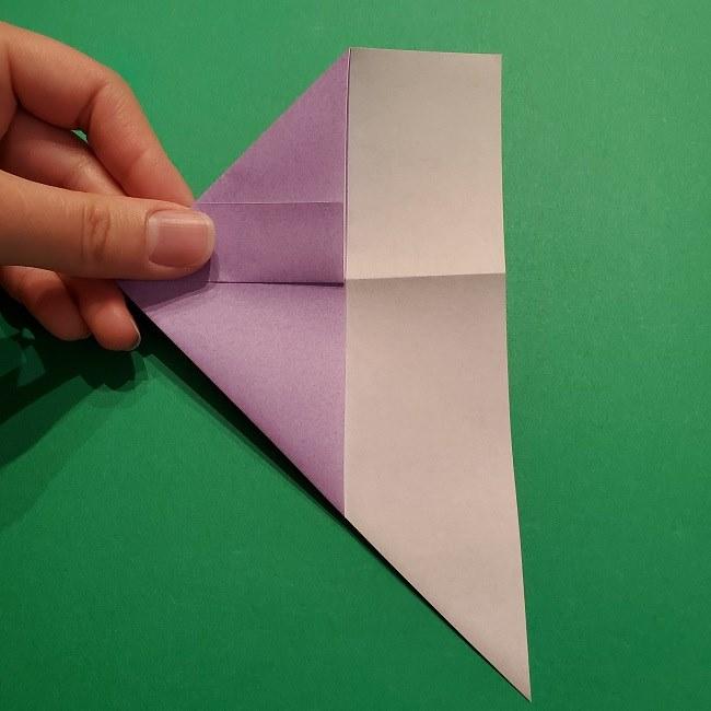 ゲッコウガの折り紙 折り方作り方2首 (11)