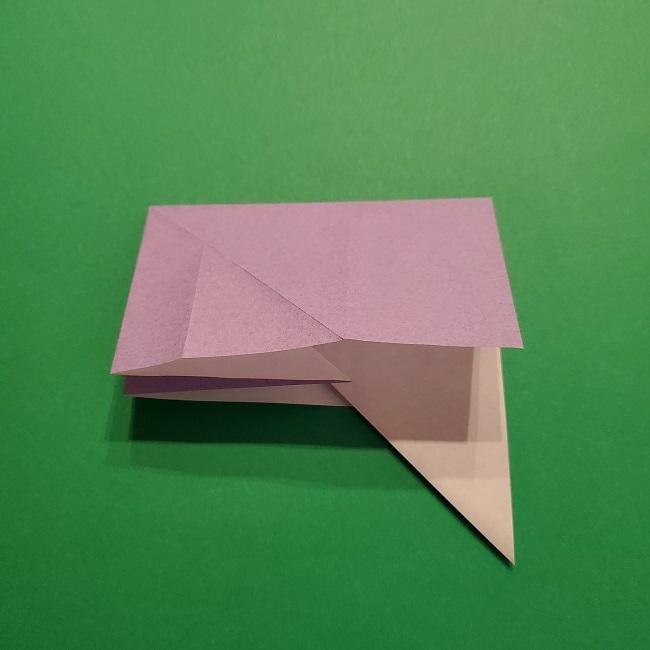 ゲッコウガの折り紙 折り方作り方2首 (14)