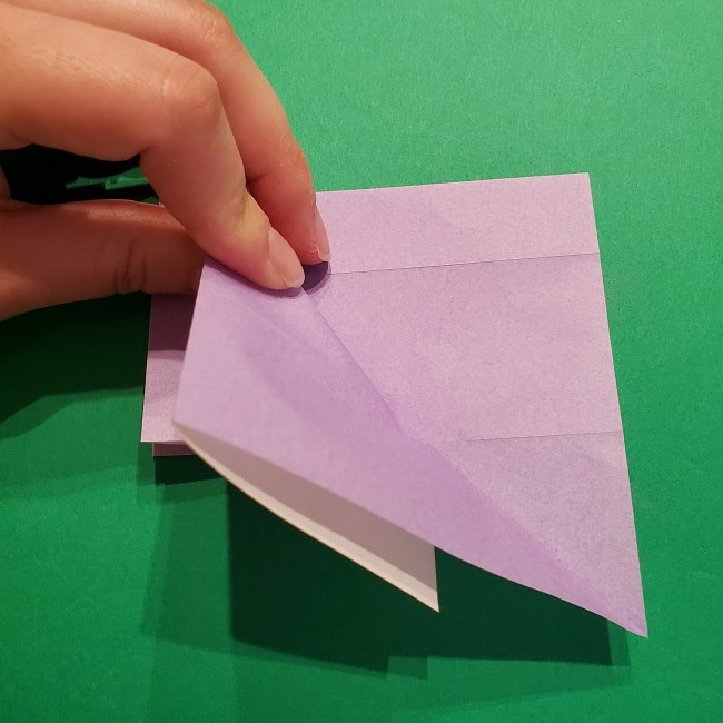 ゲッコウガの折り紙 折り方作り方2首 (15)