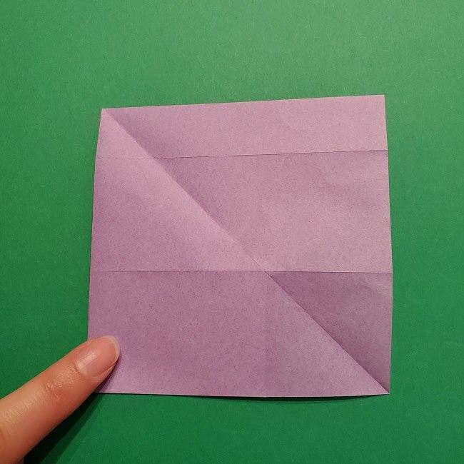 ゲッコウガの折り紙 折り方作り方2首 (16)