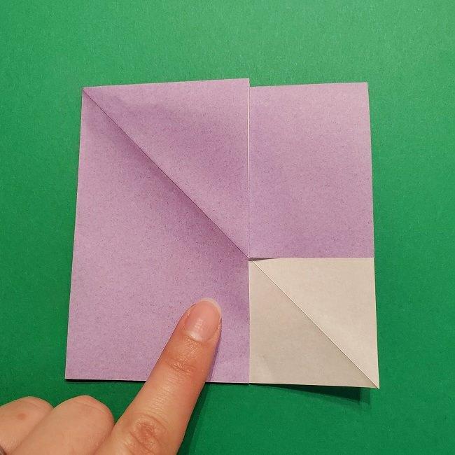 ゲッコウガの折り紙 折り方作り方2首 (17)