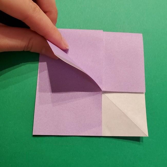 ゲッコウガの折り紙 折り方作り方2首 (18)