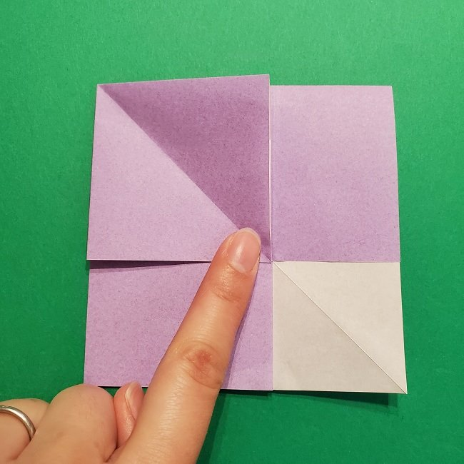 ゲッコウガの折り紙 折り方作り方2首 (19)