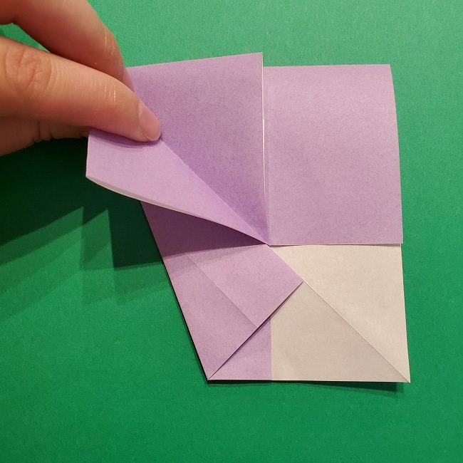 ゲッコウガの折り紙 折り方作り方2首 (20)