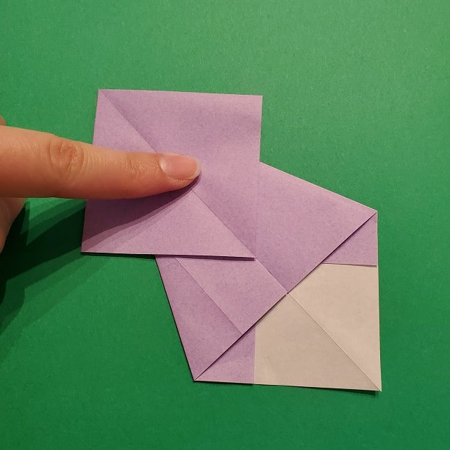 ゲッコウガの折り紙 折り方作り方2首 (21)