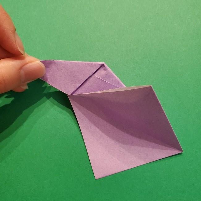 ゲッコウガの折り紙 折り方作り方2首 (24)