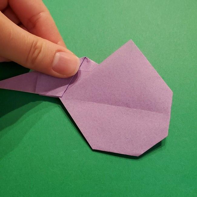 ゲッコウガの折り紙 折り方作り方2首 (25)
