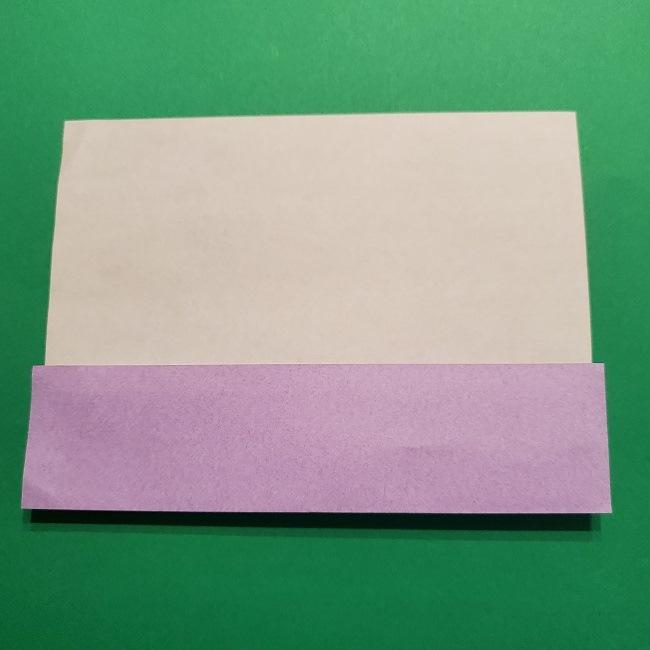 ゲッコウガの折り紙 折り方作り方2首 (4)