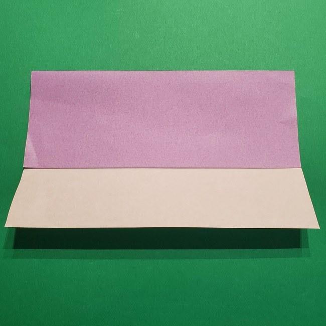 ゲッコウガの折り紙 折り方作り方2首 (6)