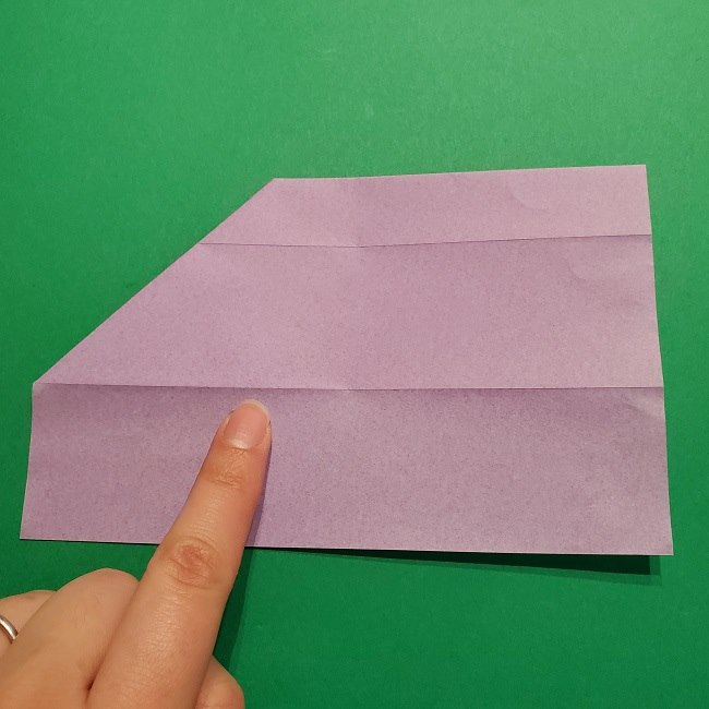 ゲッコウガの折り紙 折り方作り方2首 (8)