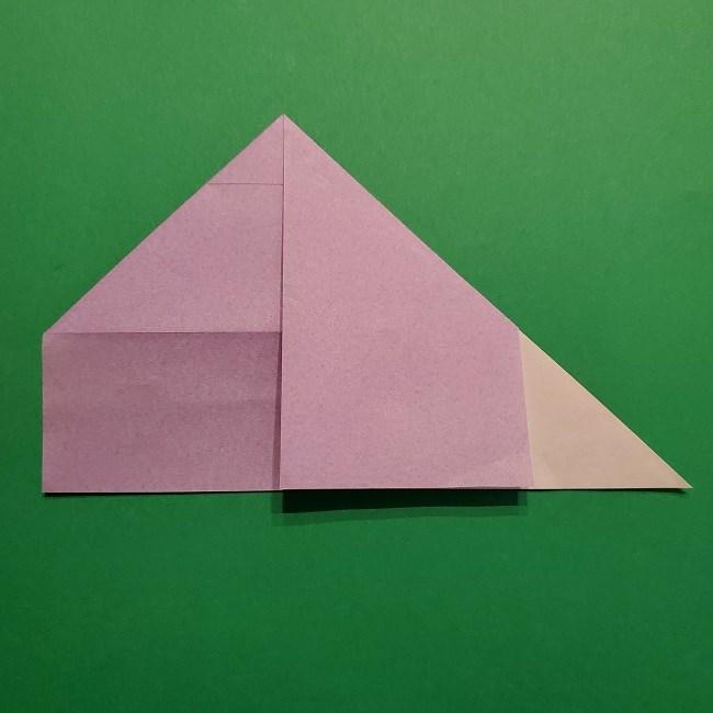 ゲッコウガの折り紙 折り方作り方2首 (9)