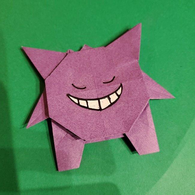 ゲンガーの折り紙は簡単?作り方折り方を紹介!ポケモン(ポケットモンスター)