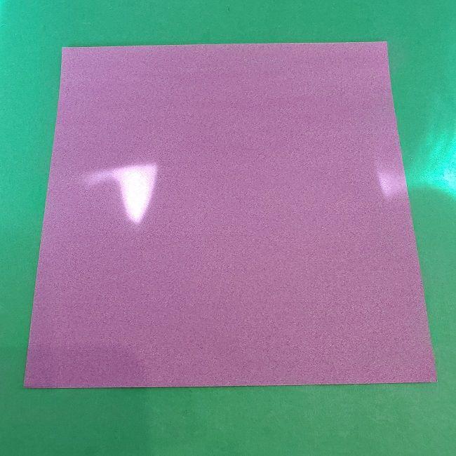ゲンガーの折り紙 作り方折り方 (1)