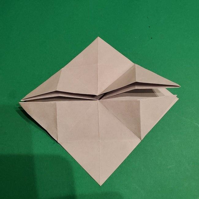 ゲンガーの折り紙 作り方折り方 (10)