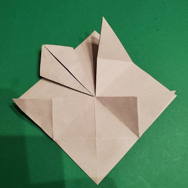 ゲンガーの折り紙 作り方折り方 (13)