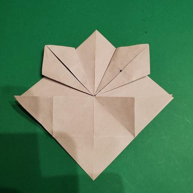 ゲンガーの折り紙 作り方折り方 (14)