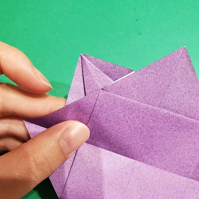 ゲンガーの折り紙 作り方折り方 (15)