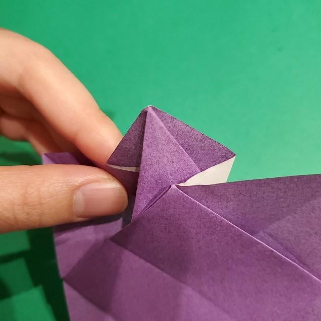 ゲンガーの折り紙 作り方折り方 (17)