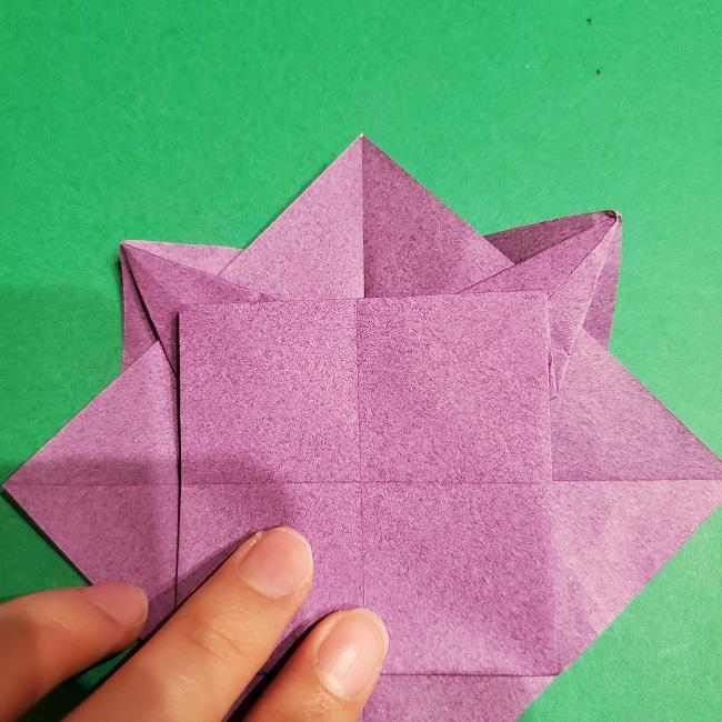 ゲンガーの折り紙 作り方折り方 (18)