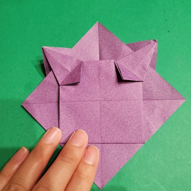 ゲンガーの折り紙 作り方折り方 (19)