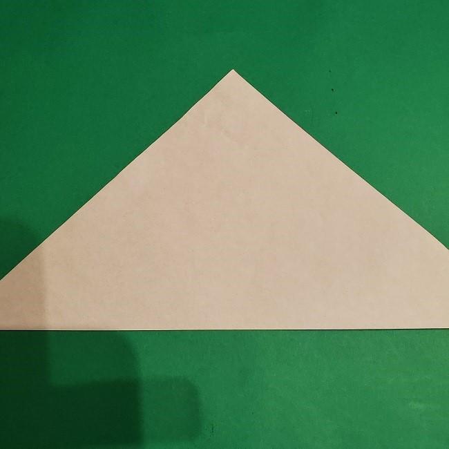 ゲンガーの折り紙 作り方折り方 (2)