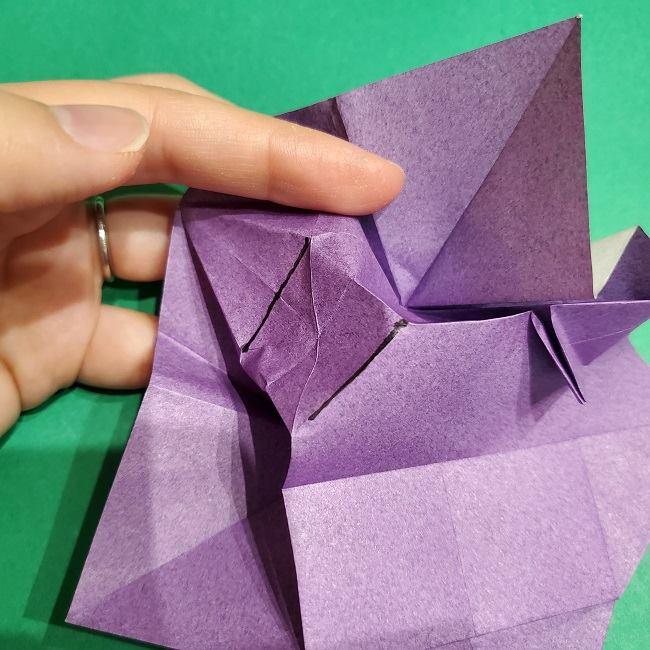 ゲンガーの折り紙 作り方折り方 (20)