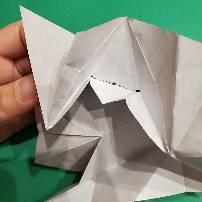 ゲンガーの折り紙 作り方折り方 (22)