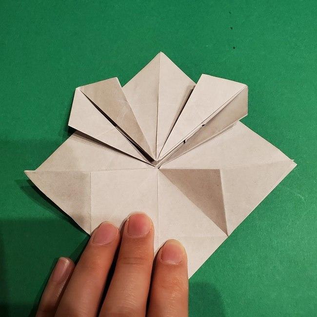 ゲンガーの折り紙 作り方折り方 (24)