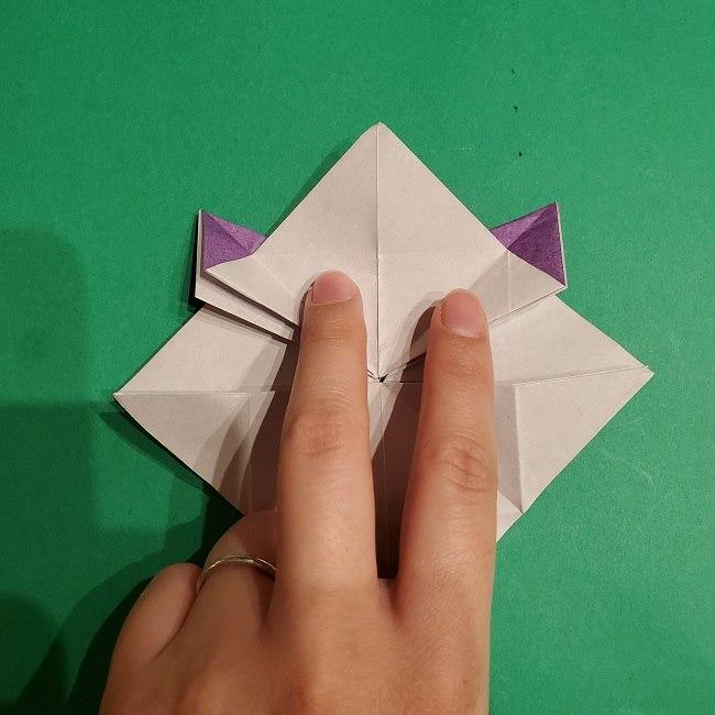 ゲンガーの折り紙 作り方折り方 (25)