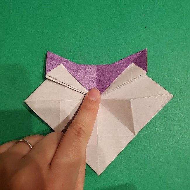 ゲンガーの折り紙 作り方折り方 (26)