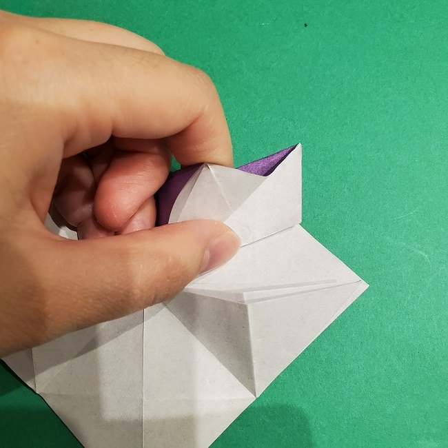 ゲンガーの折り紙 作り方折り方 (27)