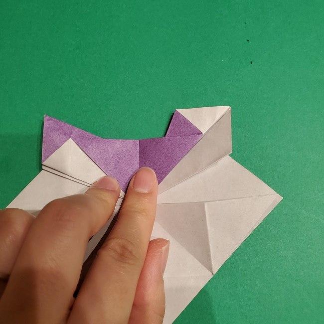 ゲンガーの折り紙 作り方折り方 (28)