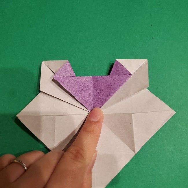 ゲンガーの折り紙 作り方折り方 (29)