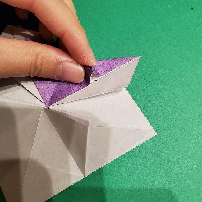 ゲンガーの折り紙 作り方折り方 (30)