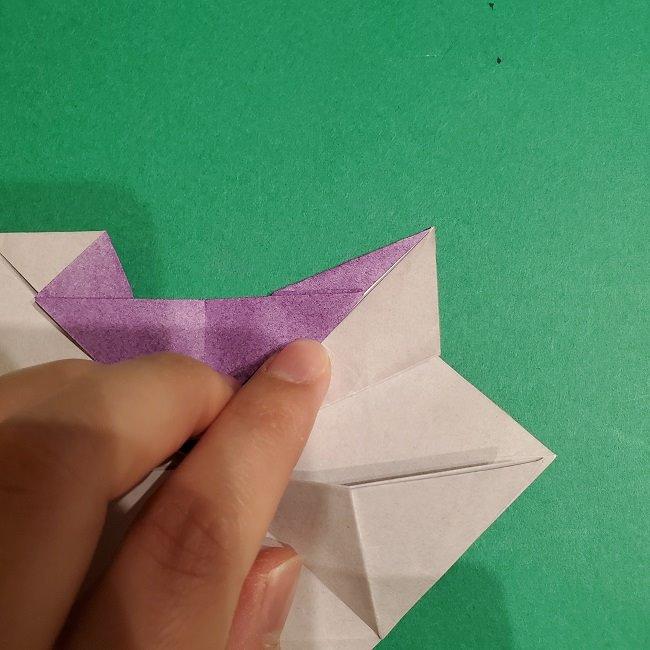 ゲンガーの折り紙 作り方折り方 (31)