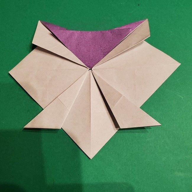 ゲンガーの折り紙 作り方折り方 (33)