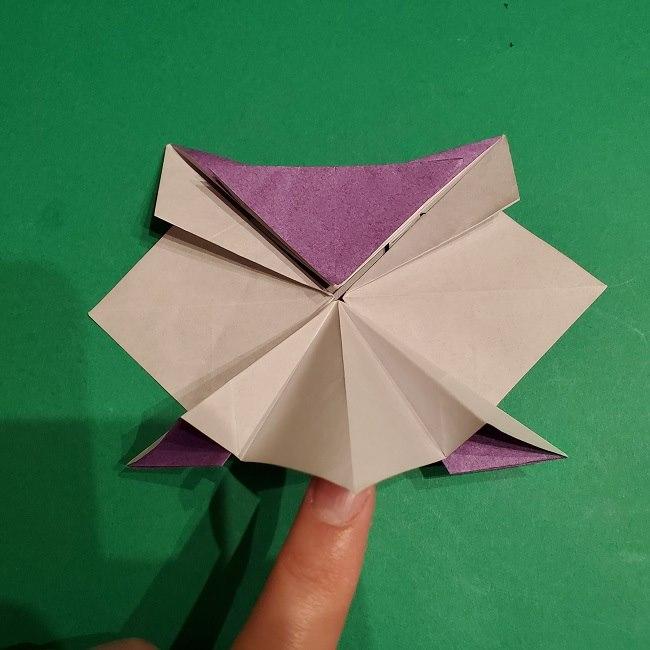 ゲンガーの折り紙 作り方折り方 (34)