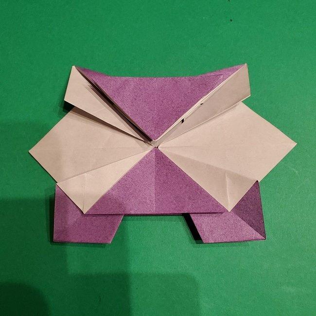 ゲンガーの折り紙 作り方折り方 (37)