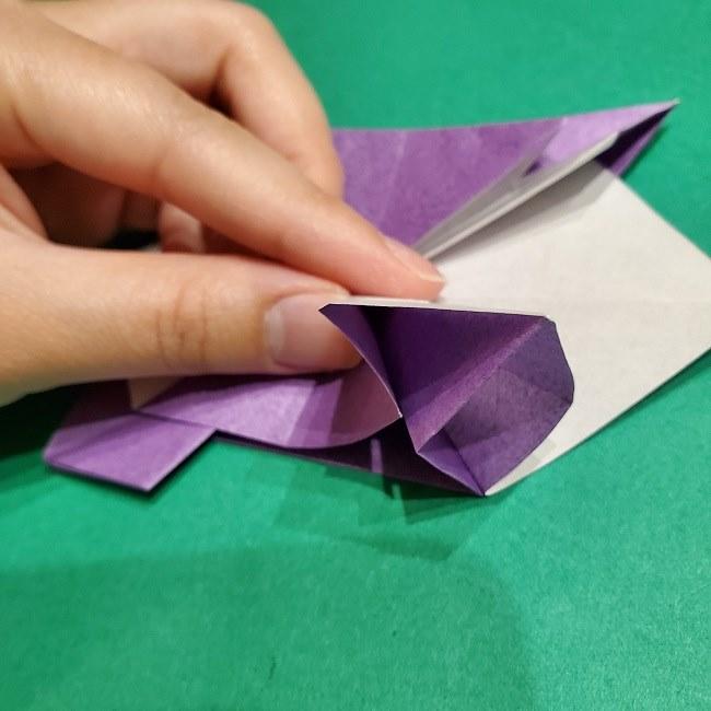 ゲンガーの折り紙 作り方折り方 (38)