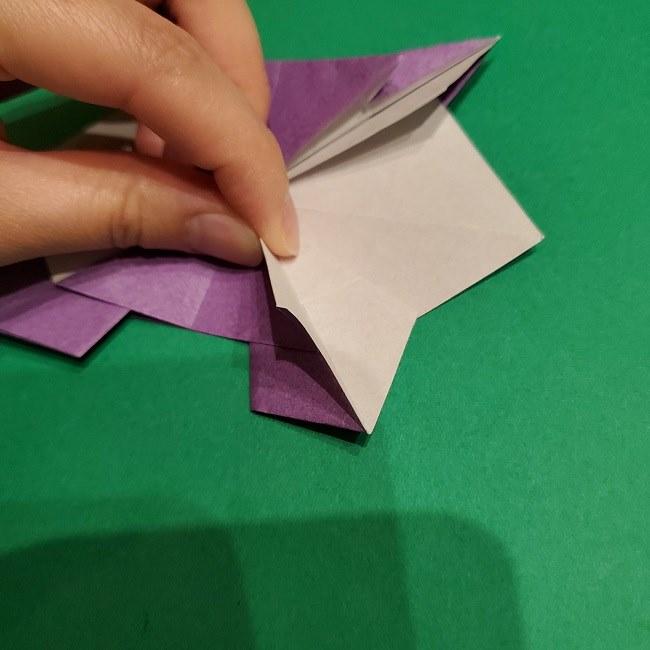 ゲンガーの折り紙 作り方折り方 (39)