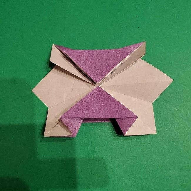 ゲンガーの折り紙 作り方折り方 (42)