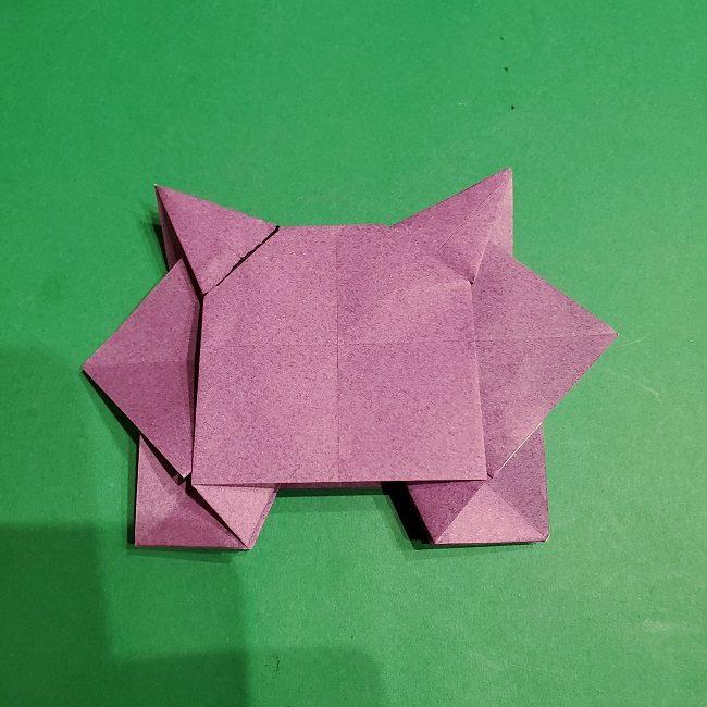 ゲンガーの折り紙 作り方折り方 (43)